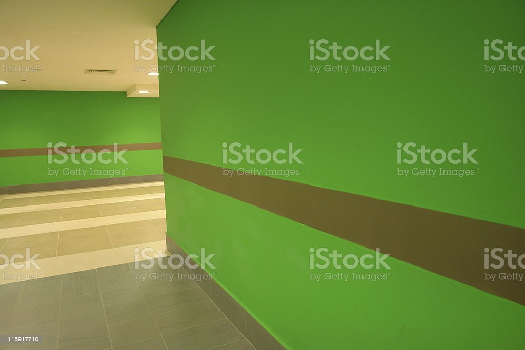 Stylish Walls royalty-free stock photo