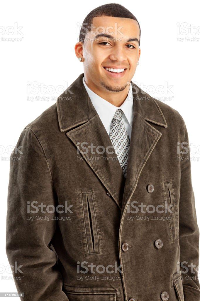 Stylish Young Businessman stock photo