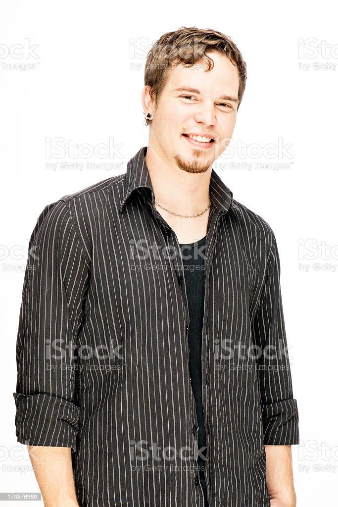 Stylish Young Man royalty-free stock photo