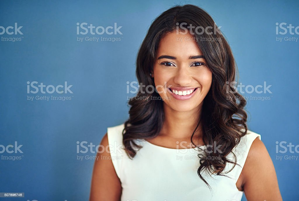 Stylishly dressed for the office stock photo