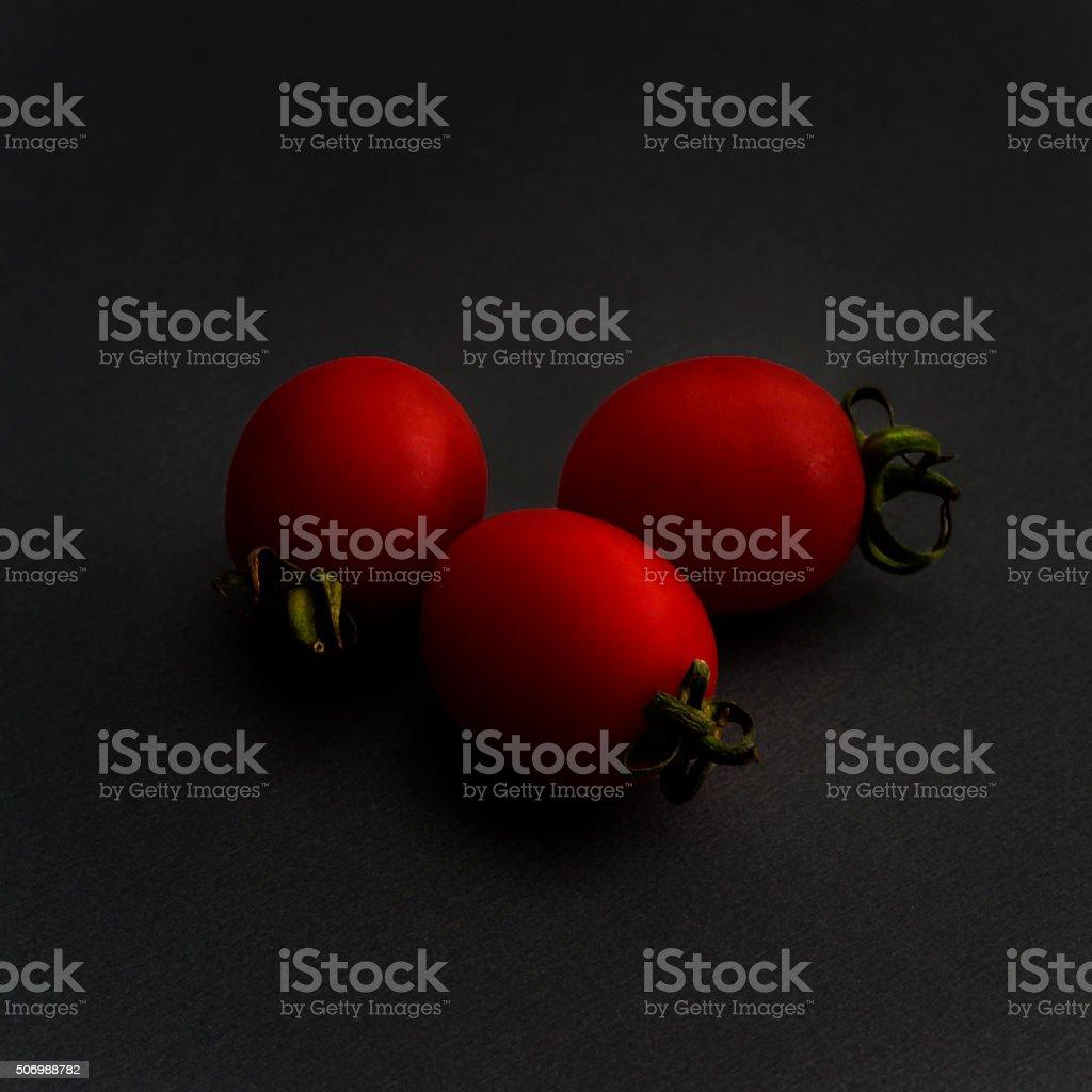Stylized  Tomatoes stock photo