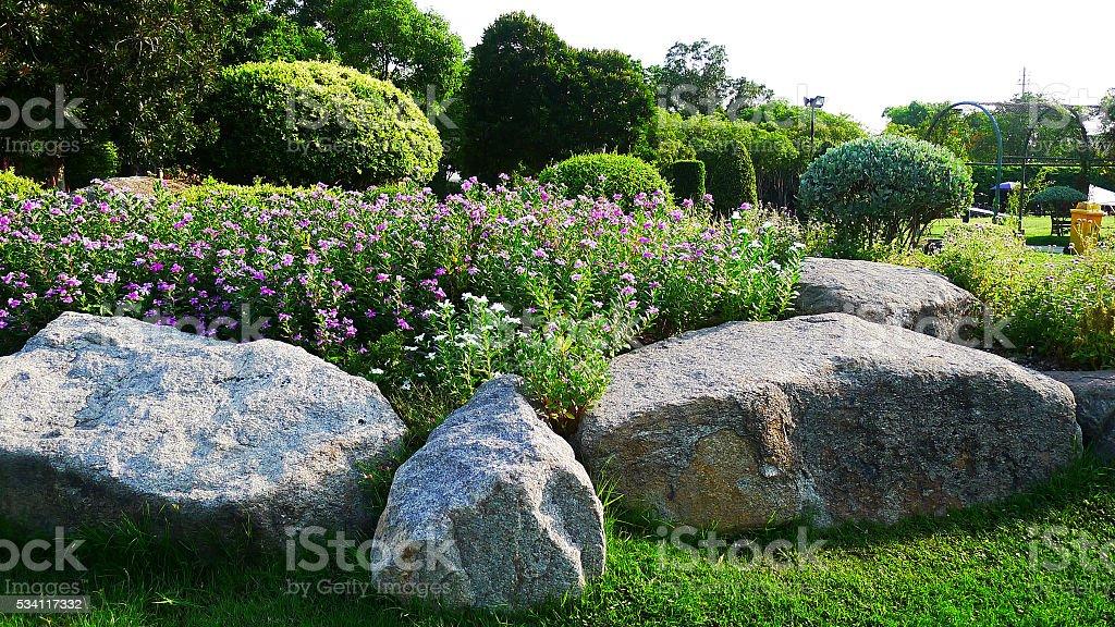 Suan Luang Rama IX Public Park stock photo