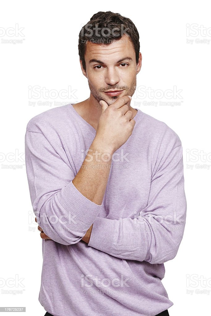 Suave and sexy royalty-free stock photo