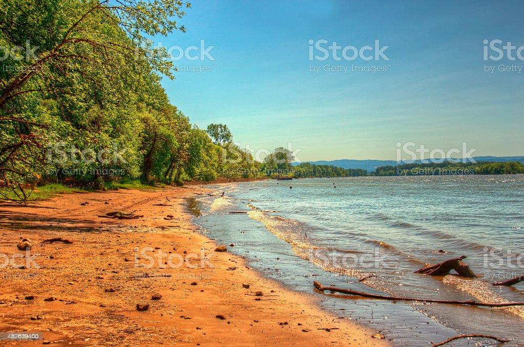 Suavie Остров пляж Стоковые фото Стоковая фотография