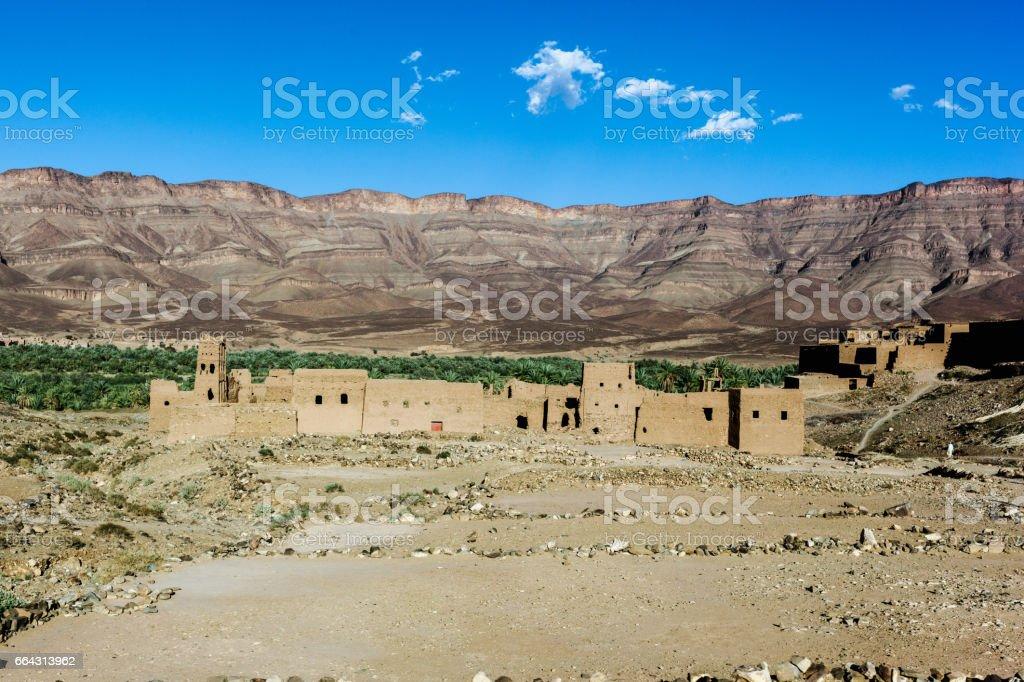 Sub Saharan landscape stock photo