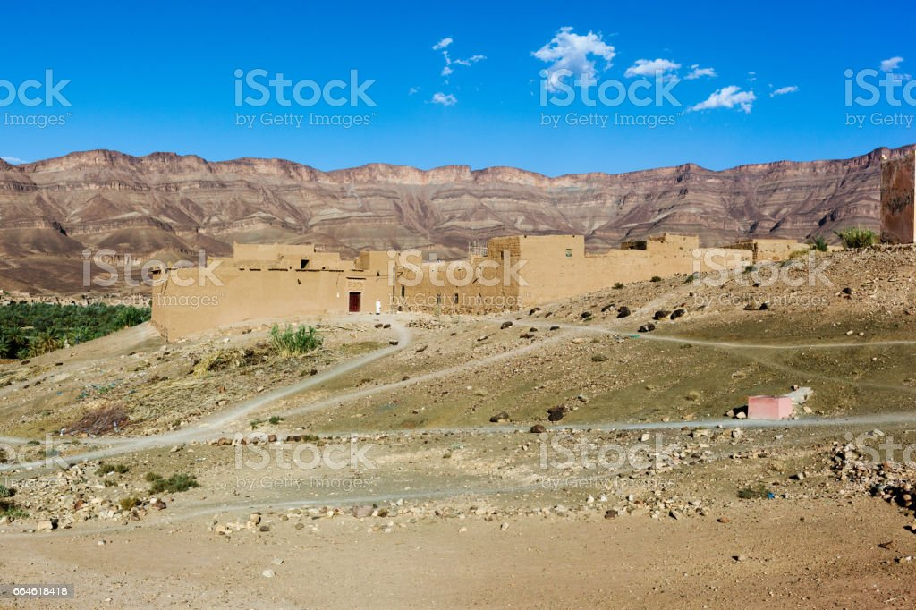 Sub Saharan view stock photo