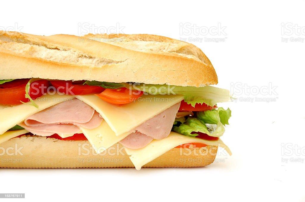 Sub sandwich royalty-free stock photo