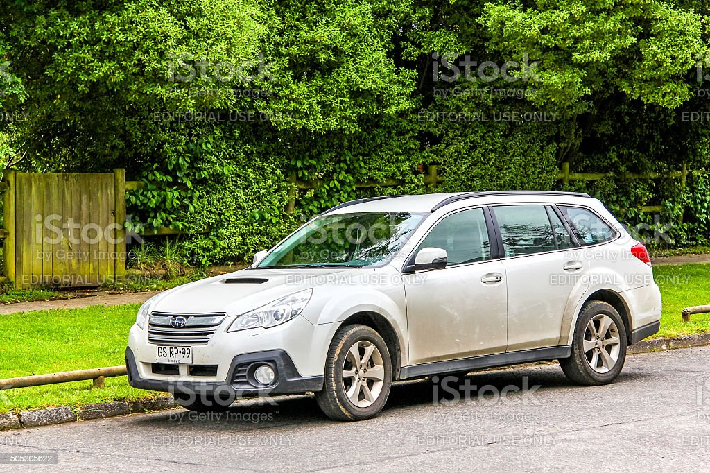 Subaru Legacy Outback stock photo