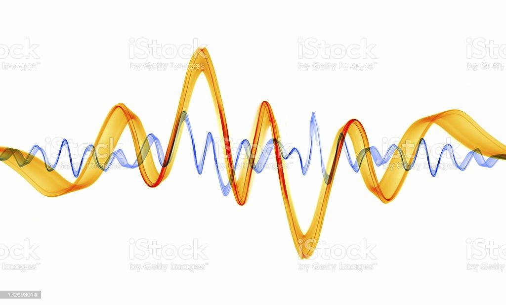 Sub-atomic Waves stock photo
