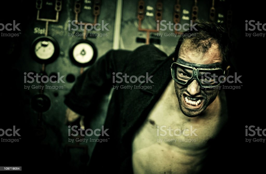 suberman attacks stock photo