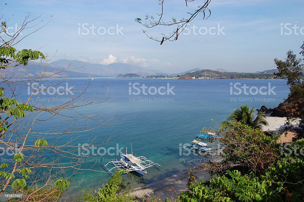 Subic Bay stock photo