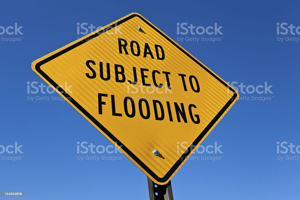 Subject To Flooding royalty-free stock photo