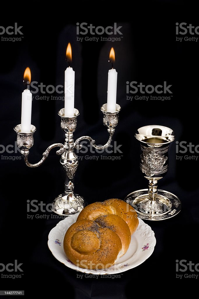 Subjects of the Jewish religion royalty-free stock photo