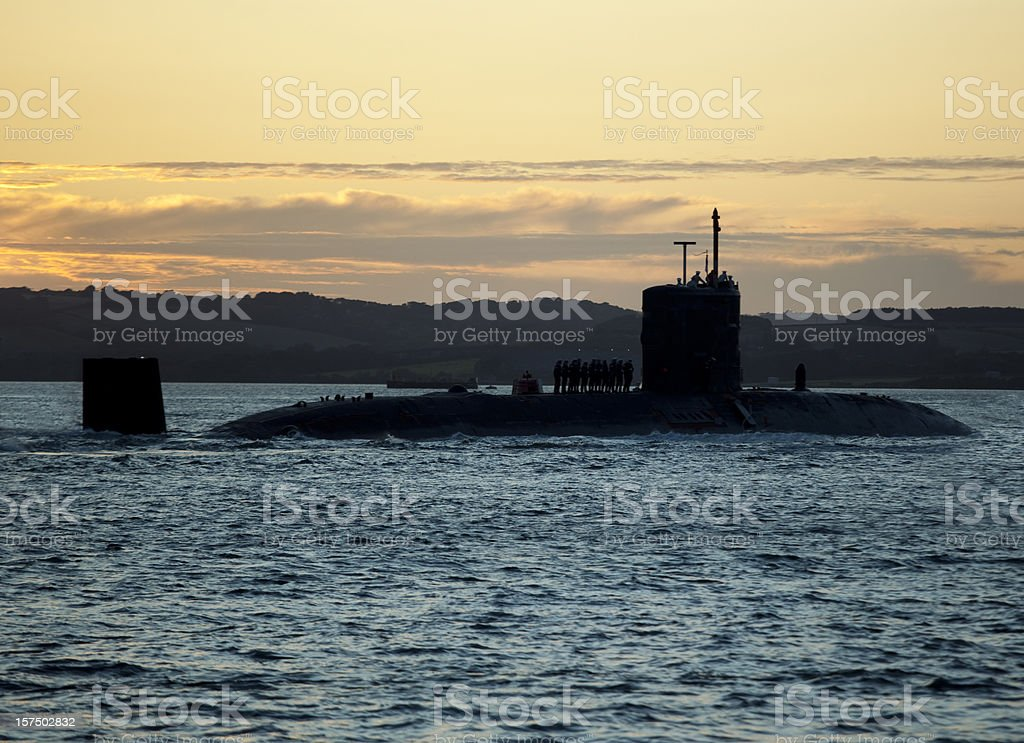 Submarine stock photo