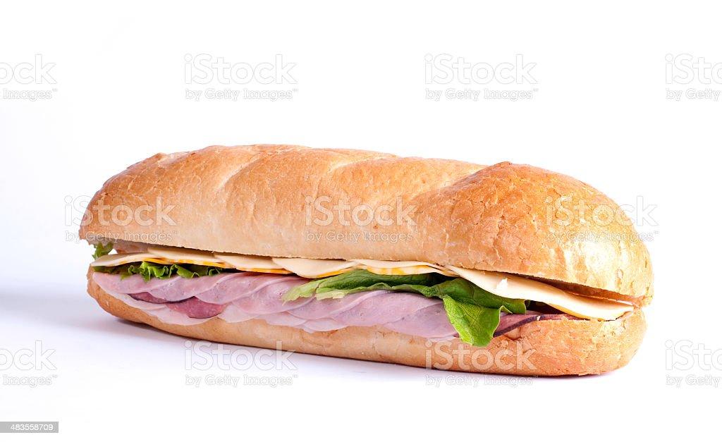 Submarine Sandwich stock photo