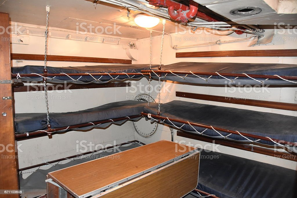 submarines Barracks stock photo
