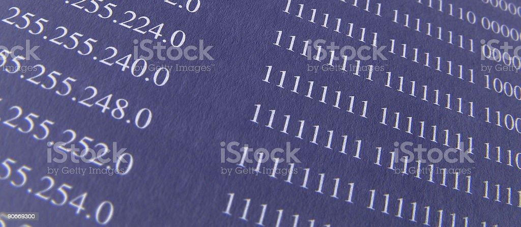 subnetmask stock photo