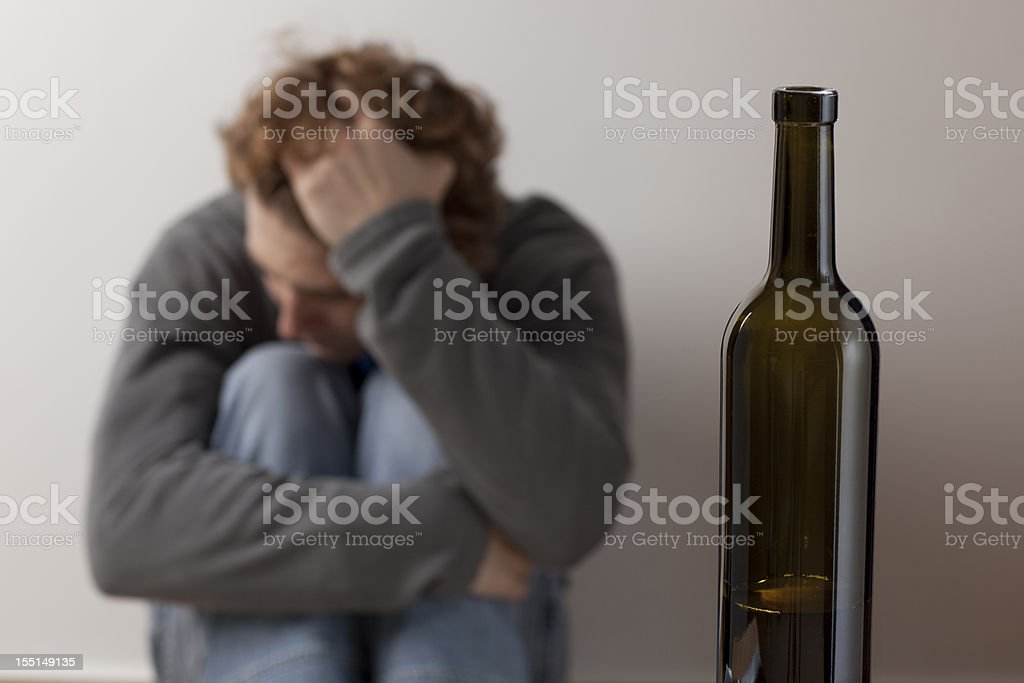 Substance Abuse. stock photo