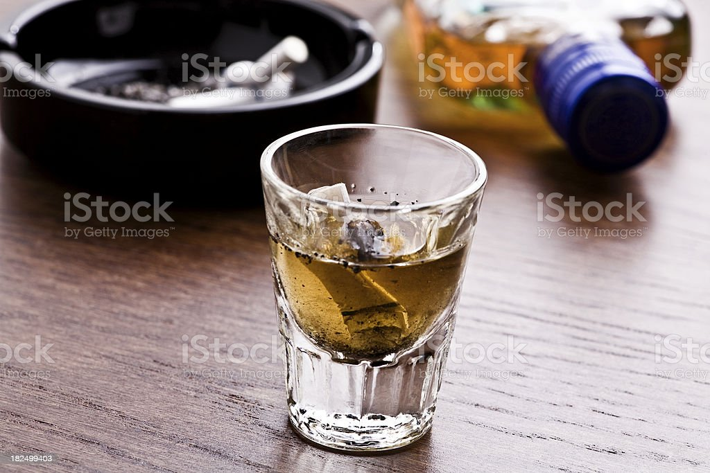 Substance abuse royalty-free stock photo