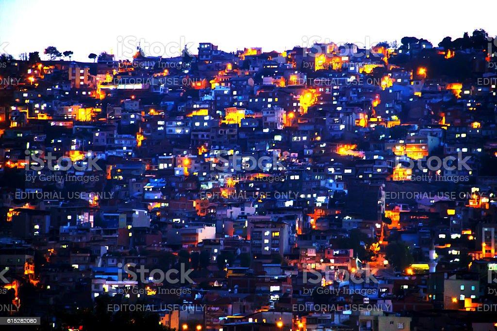 Suburb Part Of Izmir stock photo