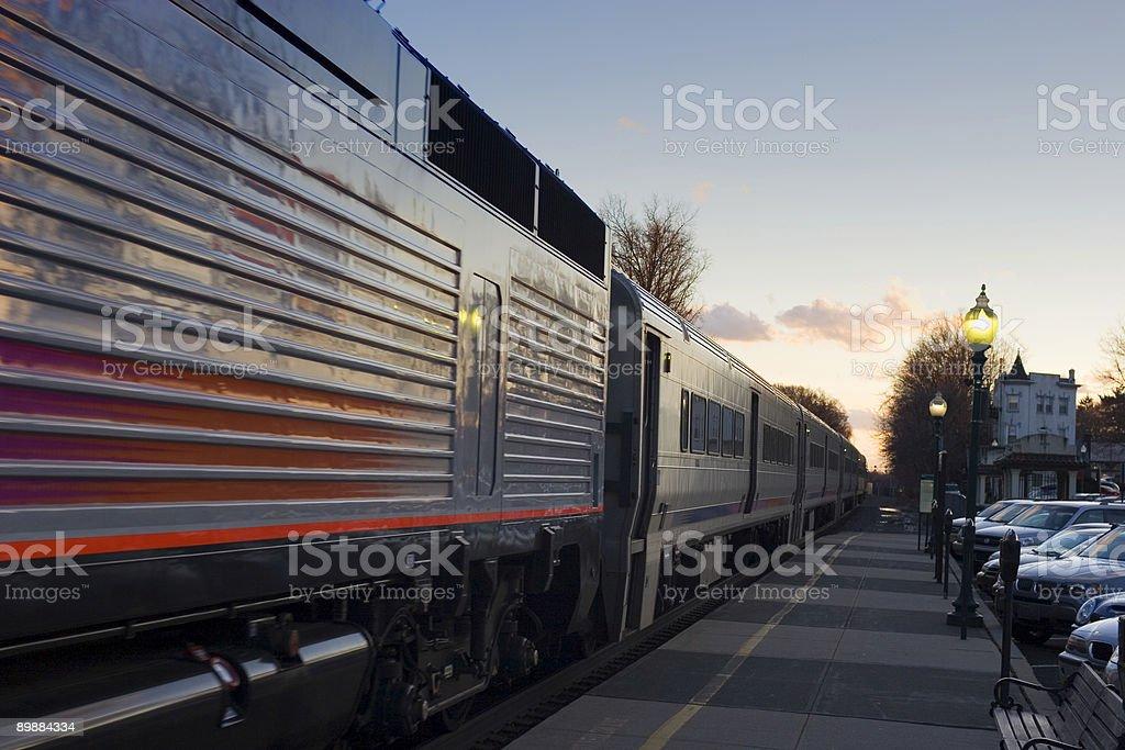 Suburban Commuter Train - 1 stock photo