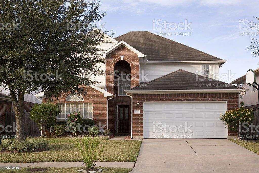 Suburban House stock photo