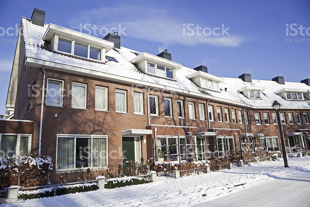 Suburban houses # 7 XXXL royalty-free stock photo