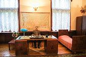 Suburban Stalin's office.