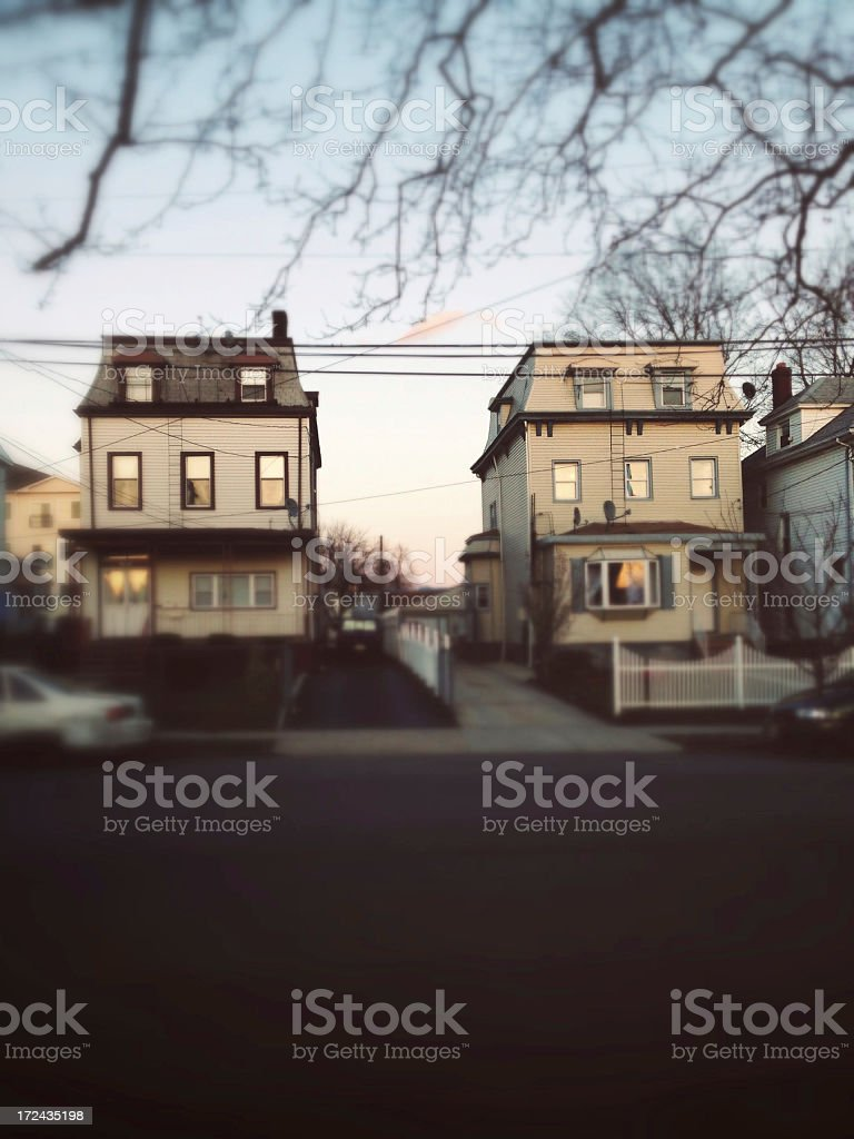Suburbia royalty-free stock photo