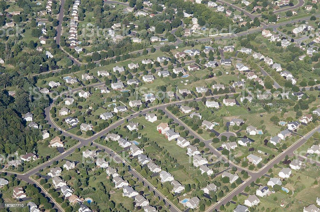 Suburbia stock photo