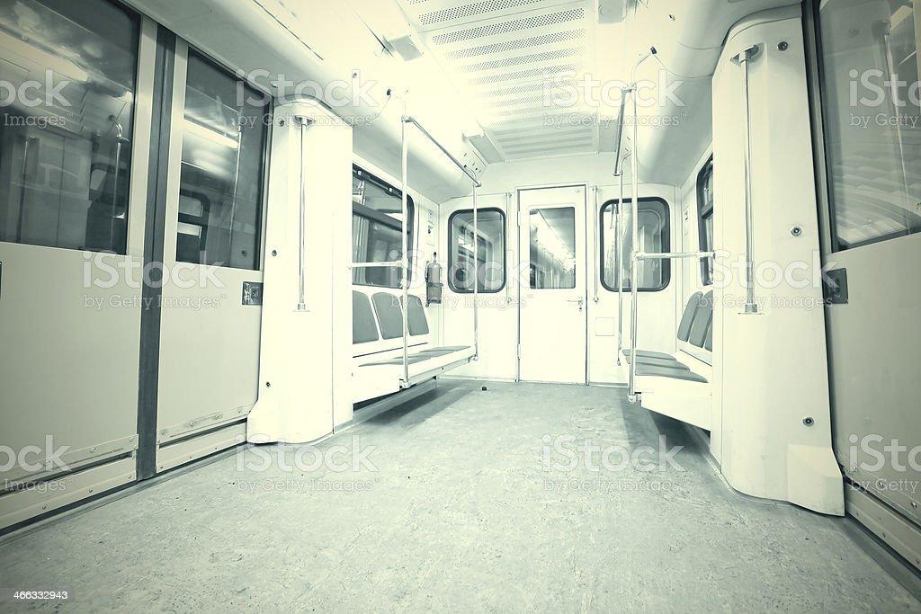 subway inside royalty-free stock photo