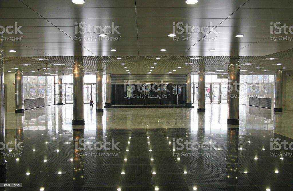 subway lobby royalty-free stock photo