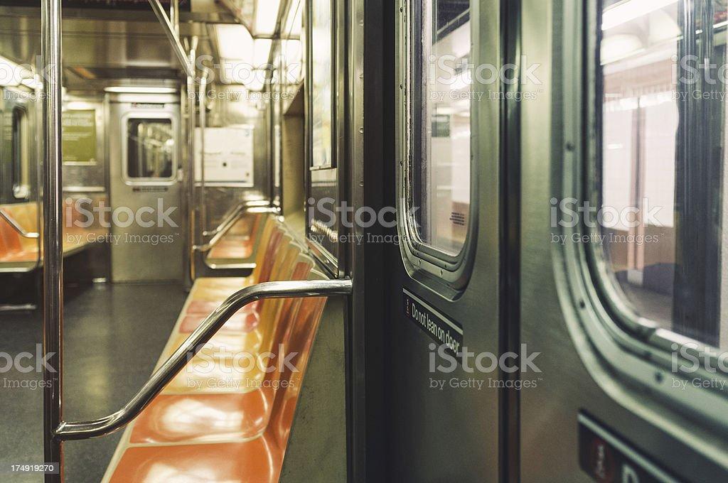 Subway New York City stock photo