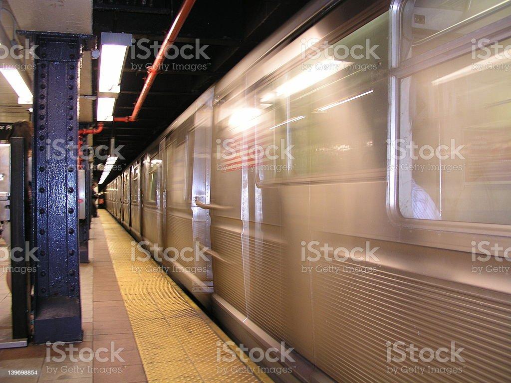 NY Subway stock photo