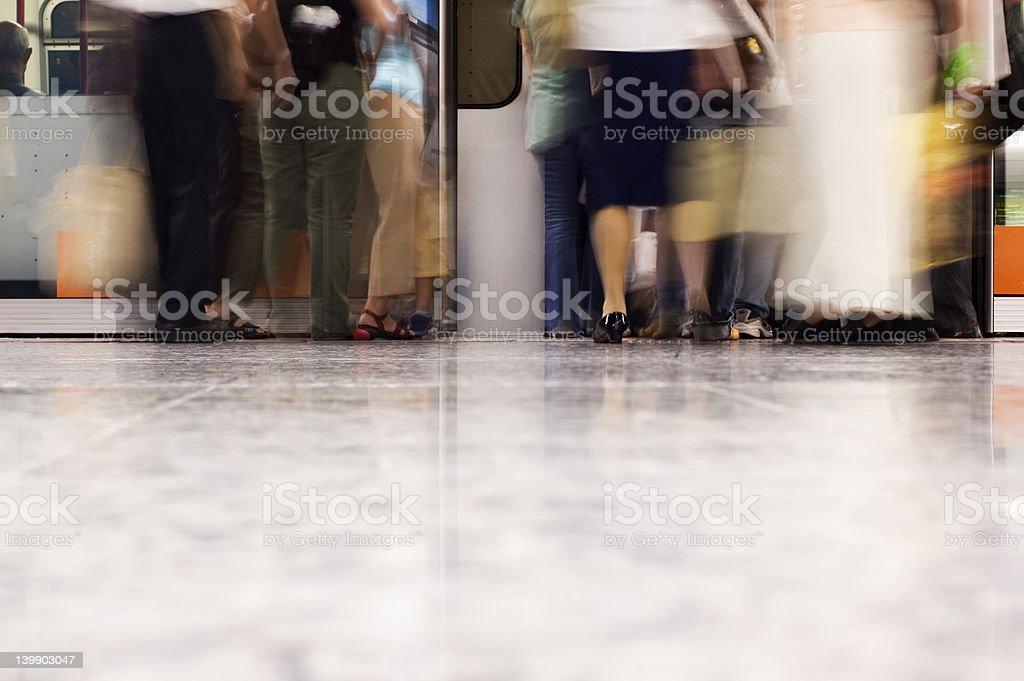 subway royalty-free stock photo