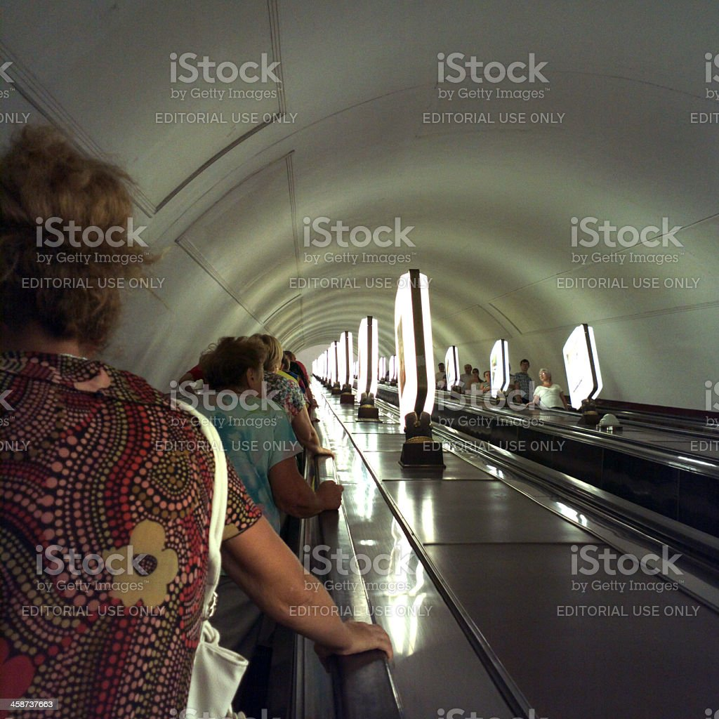 Subway. royalty-free stock photo