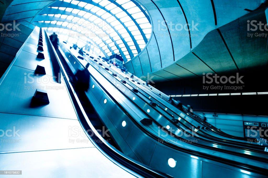 Subway Rush stock photo