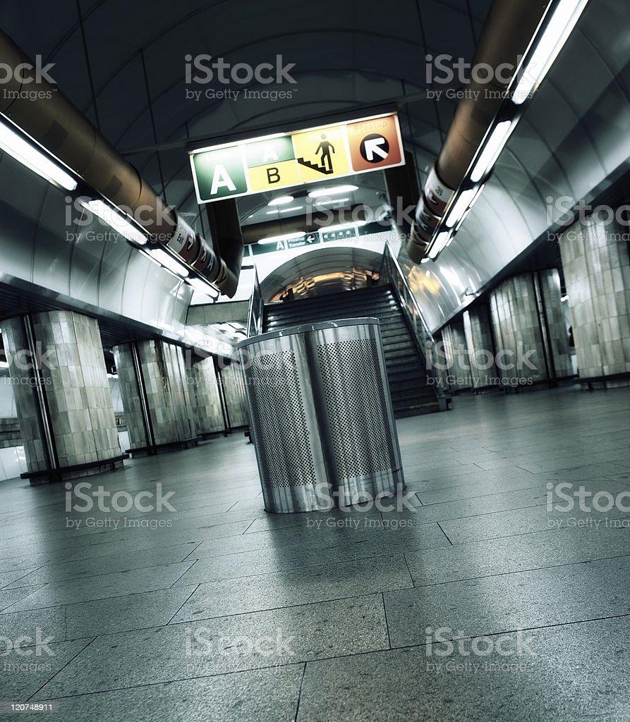 subway spirit royalty-free stock photo