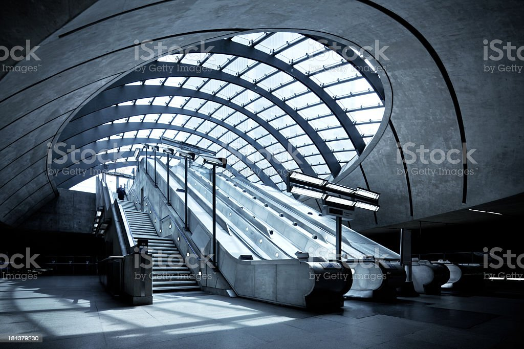 Subway Station in London royalty-free stock photo