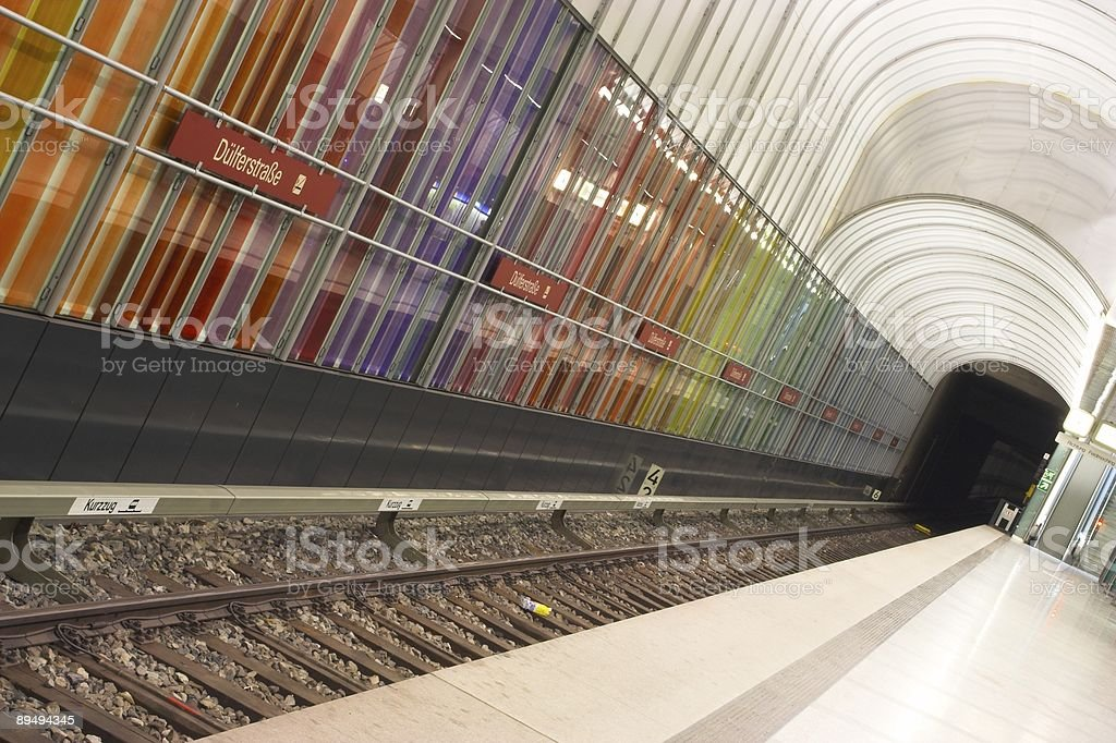 Subway station royalty-free stock photo