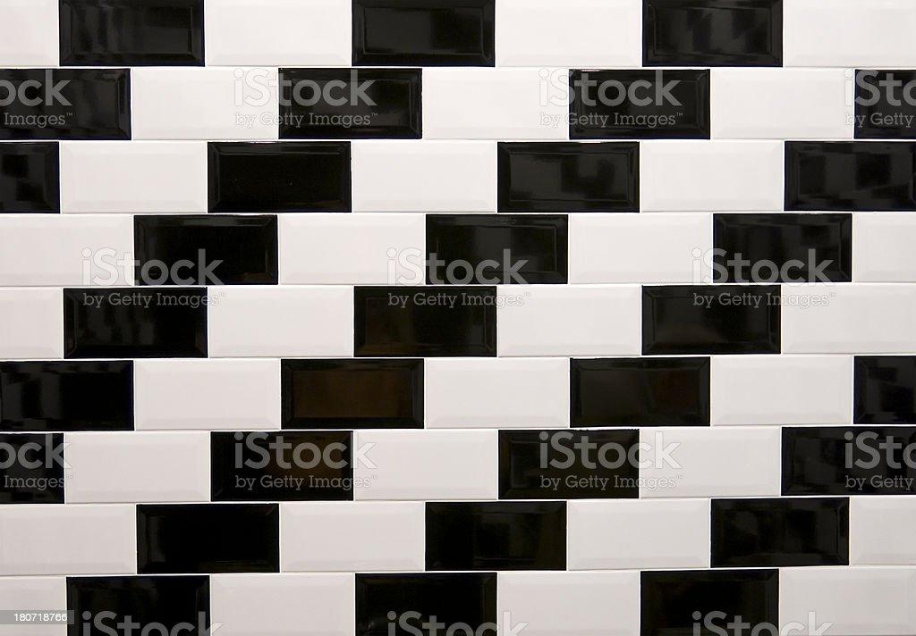 Subway Tiles royalty-free stock photo