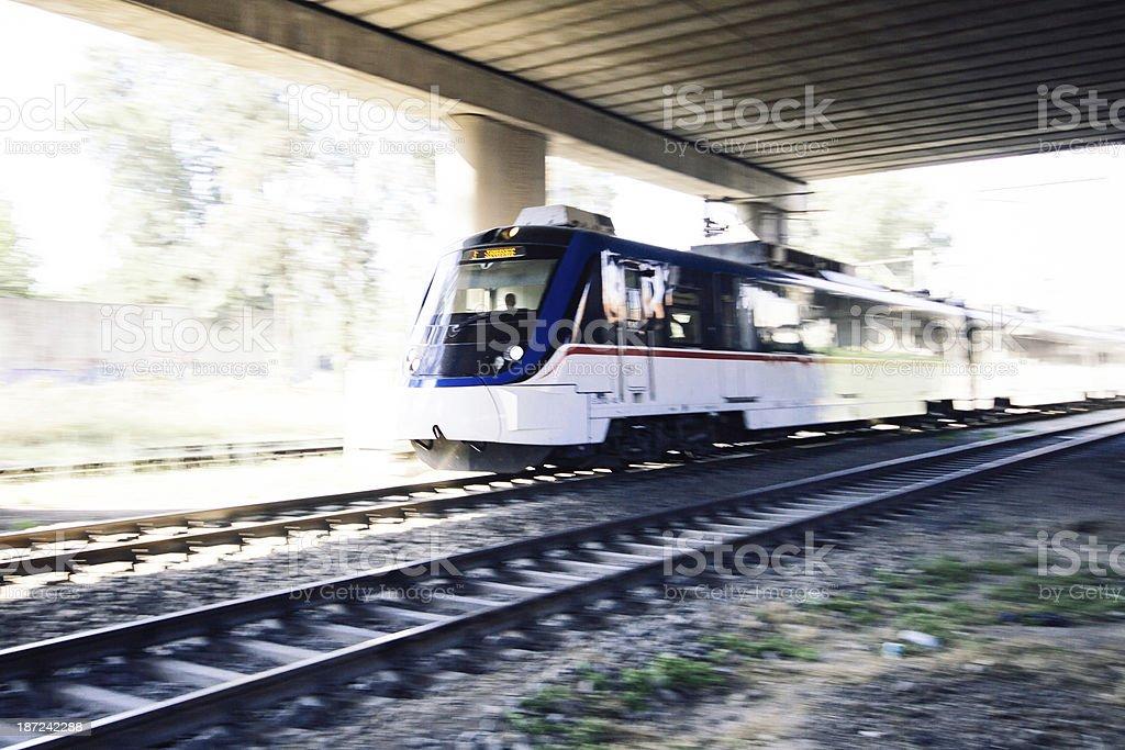 Subway Train stock photo