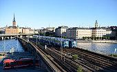 Subway train, Stockholm