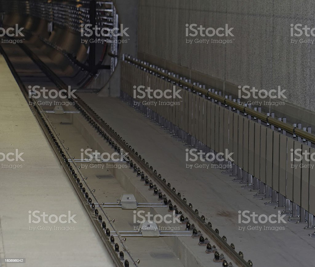 subway tunnel royalty-free stock photo