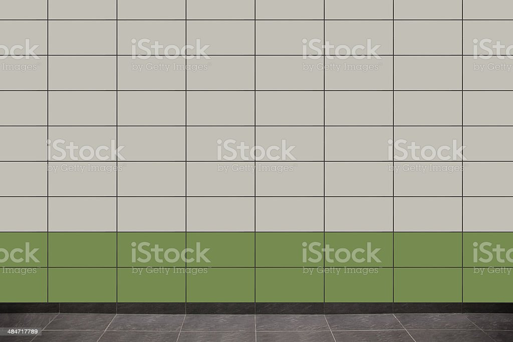 Subway wall royalty-free stock photo