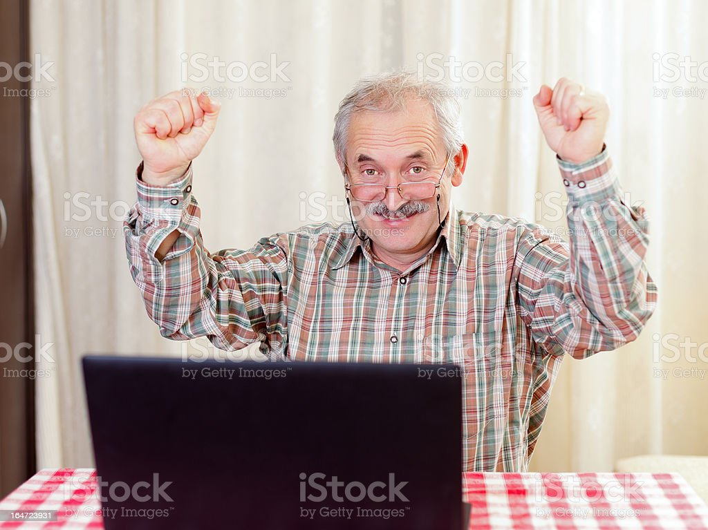 I succeded royalty-free stock photo