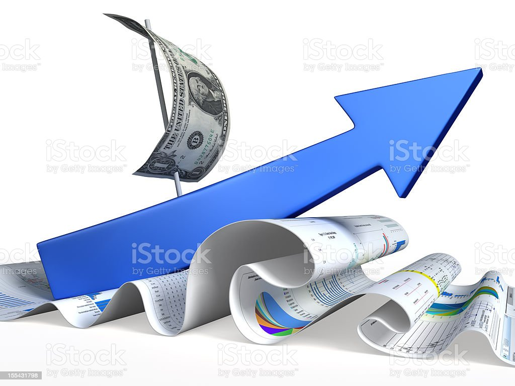 Succes stock photo