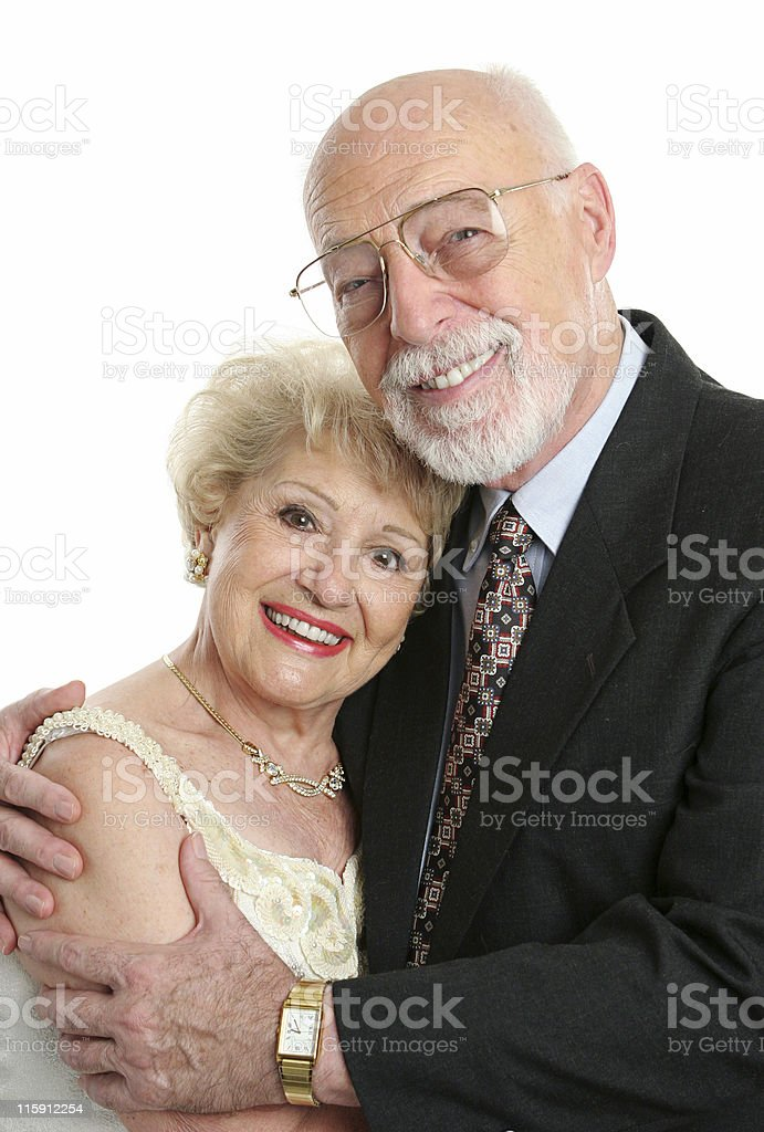 Succesful Senior Couple In Love royalty-free stock photo