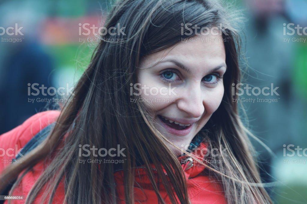 Succesful woman stock photo