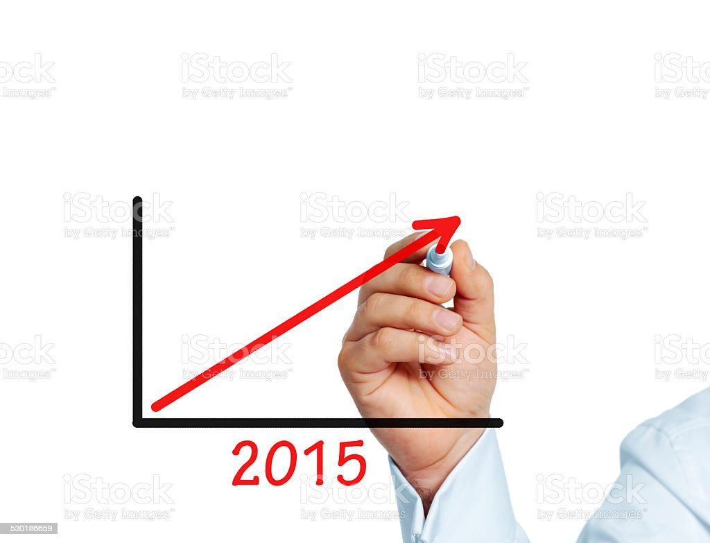 Success 2015 stock photo